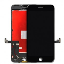 TOUCH SCREEN + LCD RETINA + FRIPHAME PER ONE 7 NERO VETRO DISPLAY SCHERMO