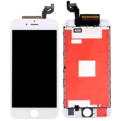 TOUCH SCREEN + LCD RETINA + FRAME PER IPHONE 6S PLUS BIANCO VETRO DISPLAY SCHERMO