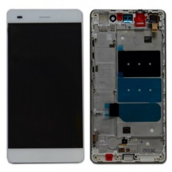 HUAWEI P8 LITE DISPLAY LCD + TOUCH SCREEN + FRAME  BIANCO