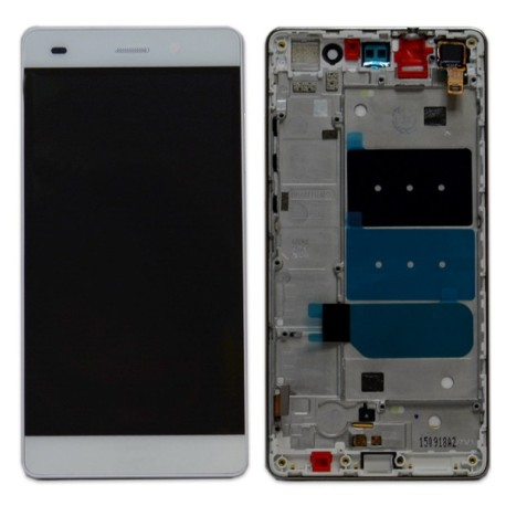 DISPLAY LCD + TOUCH SCREEN + FRAME HUAWEI P8 LITE BIANCO