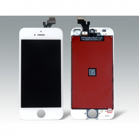 TOUCH SCREEN + LCD RETINA + FRAME PER IPHONE 5 BIANCO VETRO DISPLAY SCHERMO
