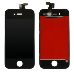 TOUCH SCREEN + LCD RETINA + FRAME PER IPHONE 4S NERO VETRO DISPLAY SCHERMO