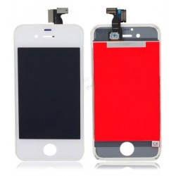 TOUCH SCREEN + LCD RETINA + FRAME PER IPHONE 4 BIANCO VETRO DISPLAY SCHERMO