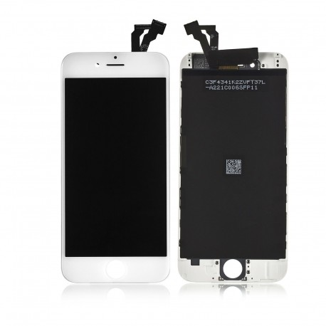 TOUCH SCREEN + LCD RETINA + FRAME PER IPHONE 6 BIANCO VETRO DISPLAY SCHERMO
