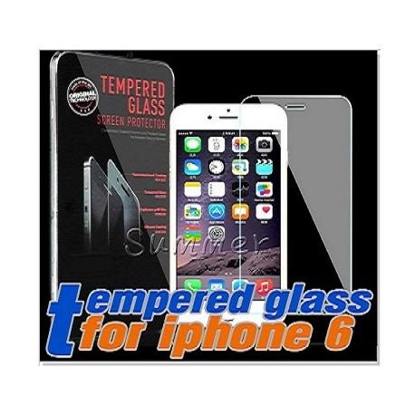 "Pellicola Vetro Temperato per Apple iPhone 6/6S 5,5"" Proteggischermo Antigraffio"