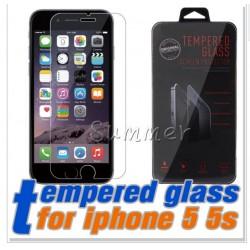 Pellicola Vetro Temperato per Apple iPhone 5/5s Proteggischermo Antigraffio