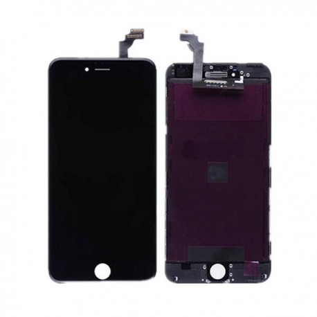 "TOUCH SCREEN + LCD RETINA + FRAME PER IPHONE 6 PLUS 5,5""  NERO VETRO DISPLAY SCHERMO"